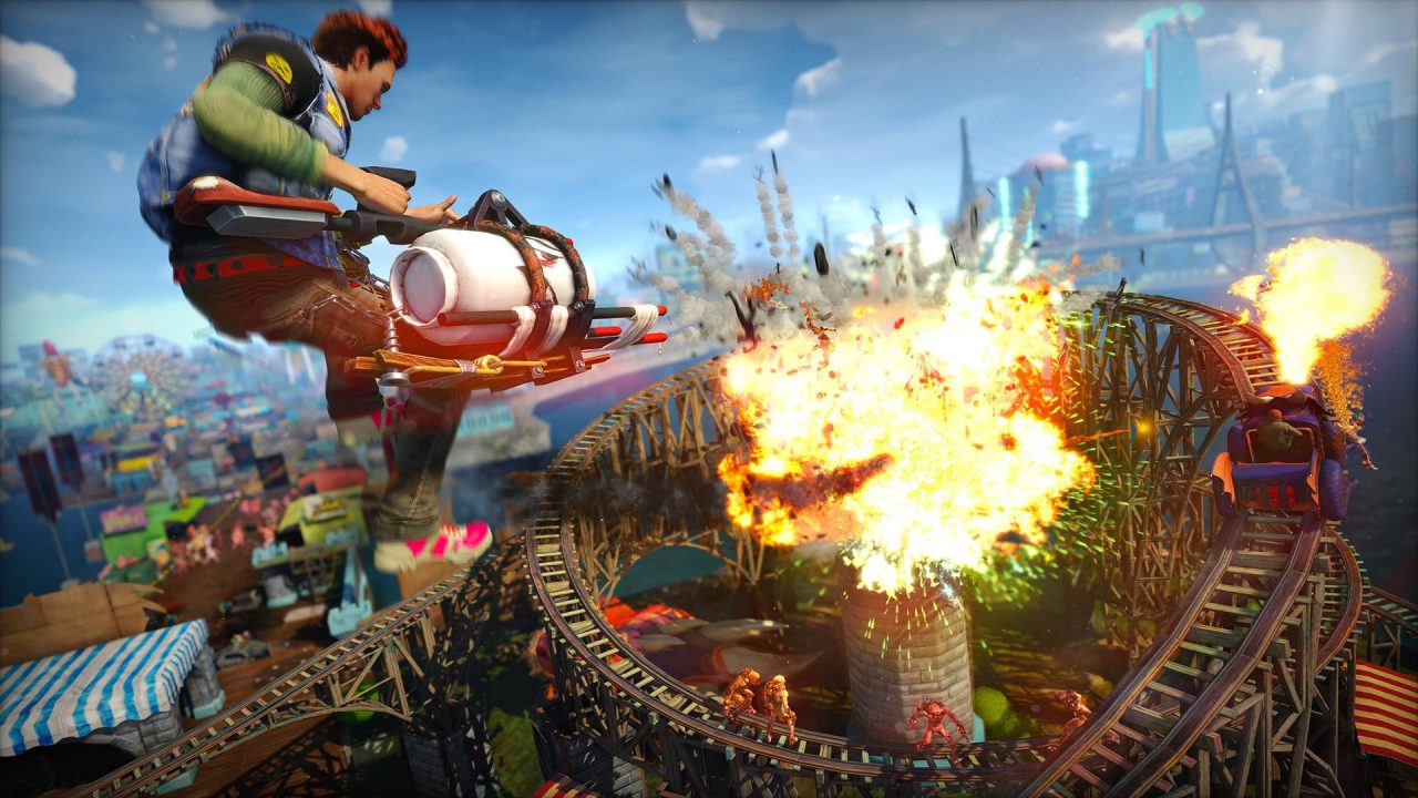 Sunset Overdrive, Sony registra il marchio