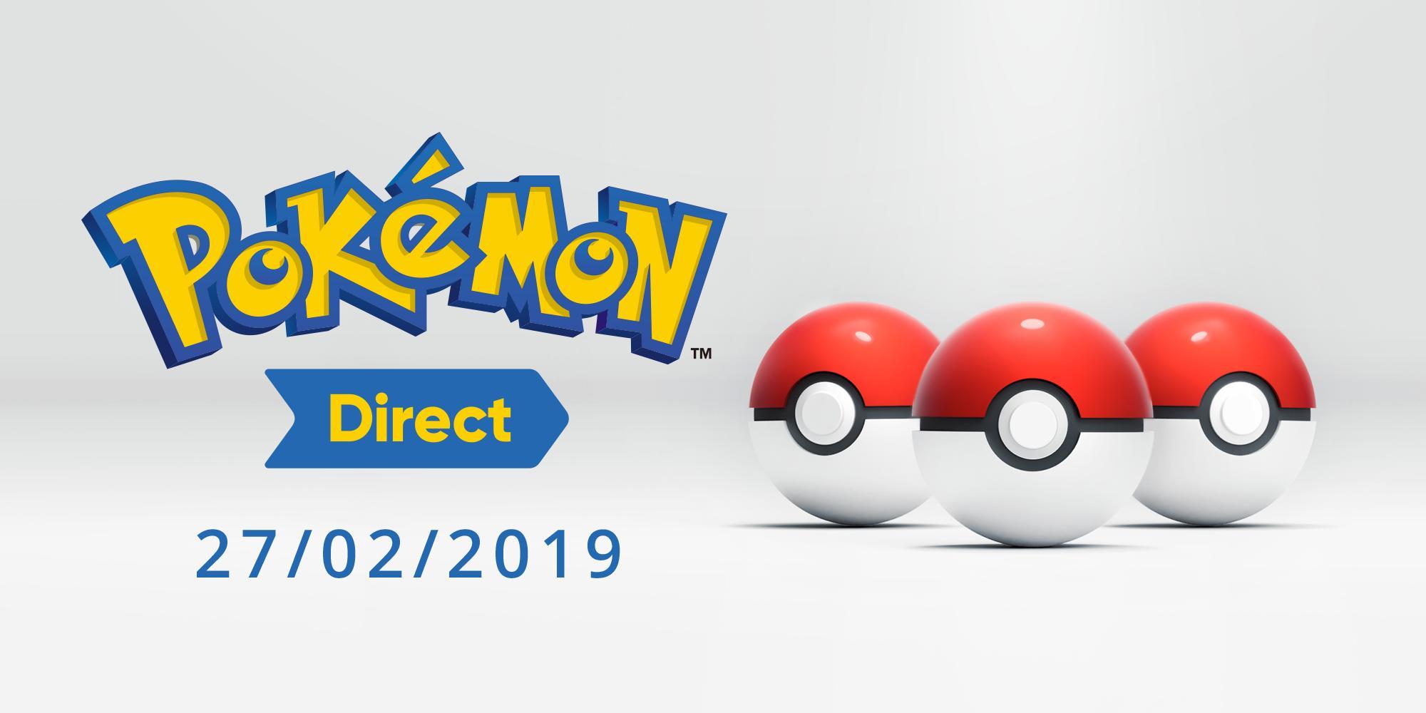 Pokémon Direct annunciato per mercoledì 27 febbraio