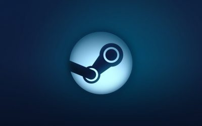 Steam blu logo