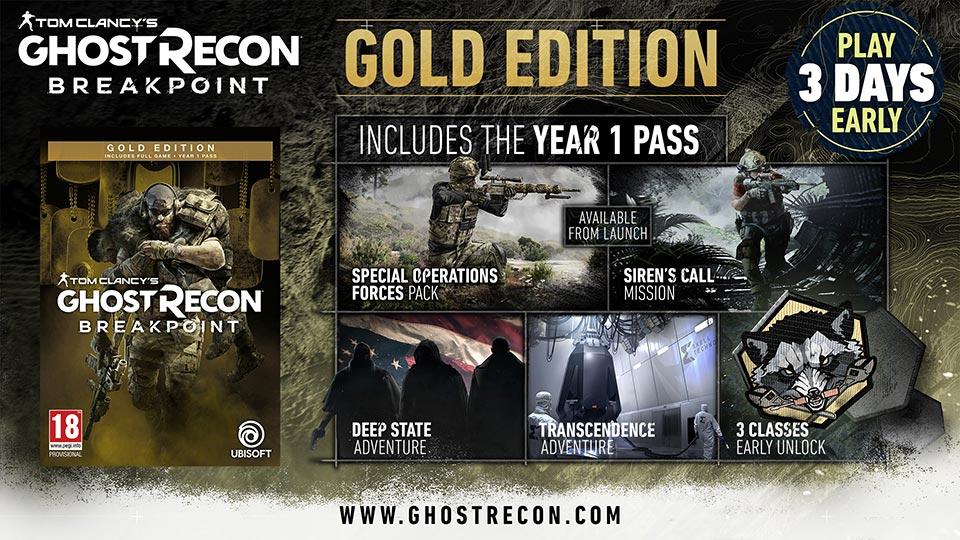 Ghost Recon Breakpoint Gold Edition Showcase