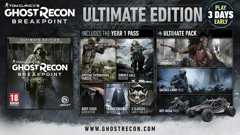Ghost Recon Breakpoint Ultimate Edition Showcase