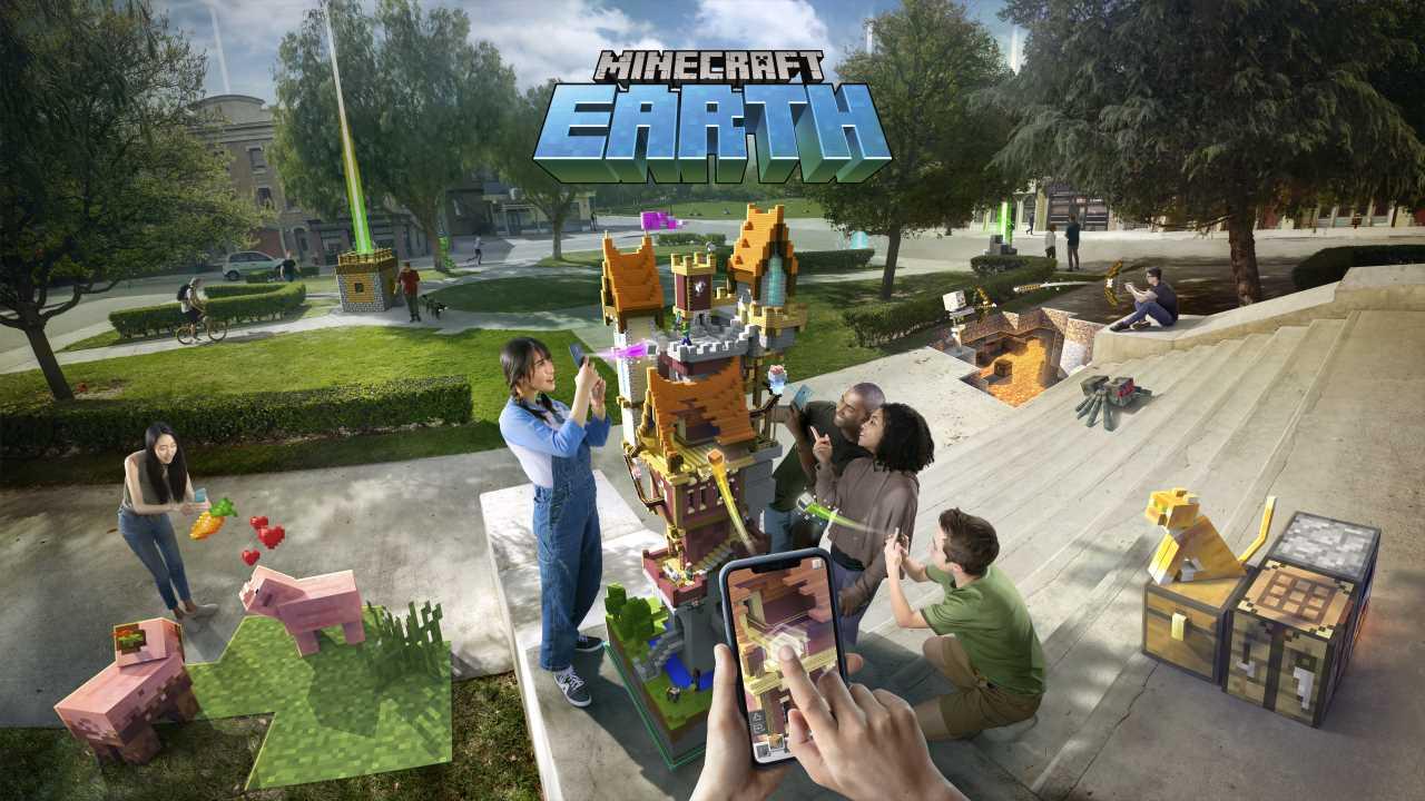 Minecraft Earth è disponibile in Italia in accesso anticipato