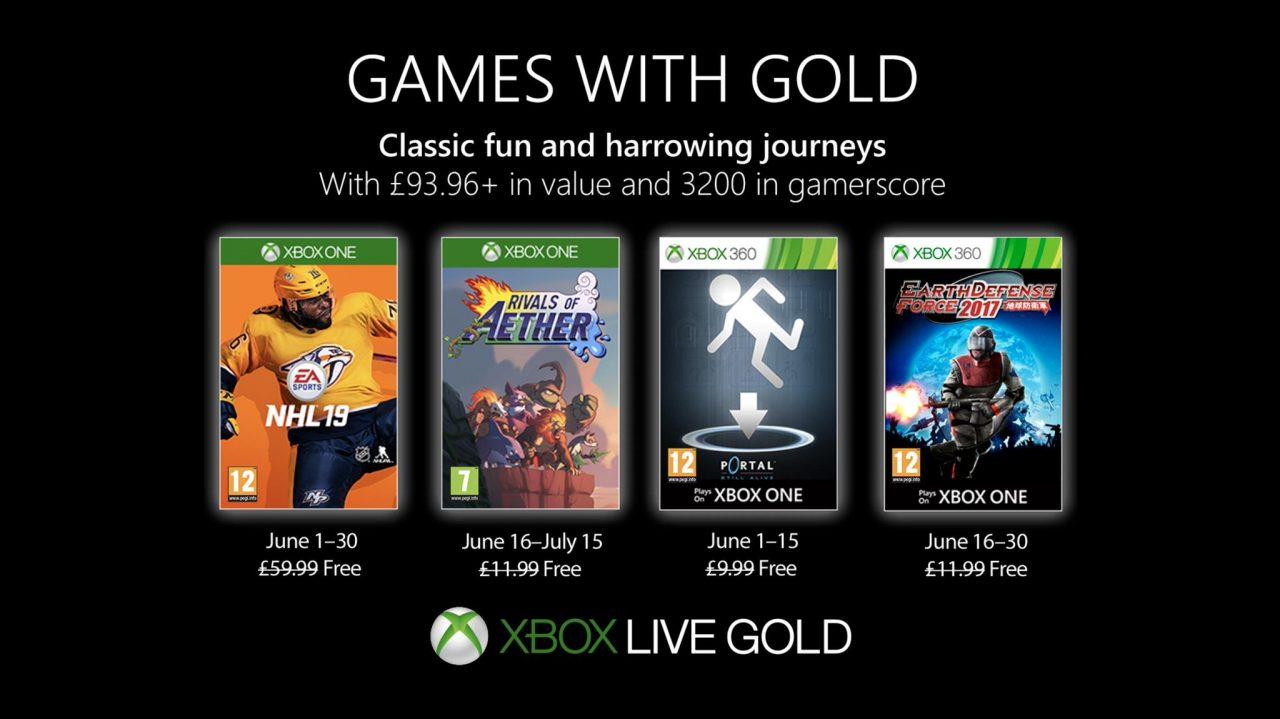 Xbox Live Gold giochi di Giugno 2019