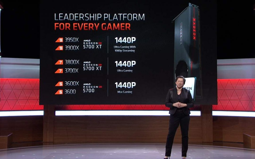 AMD all'E3 2019: nuova GPU Radeon RX 5700 Series e CPU Ryzen 9 3950X