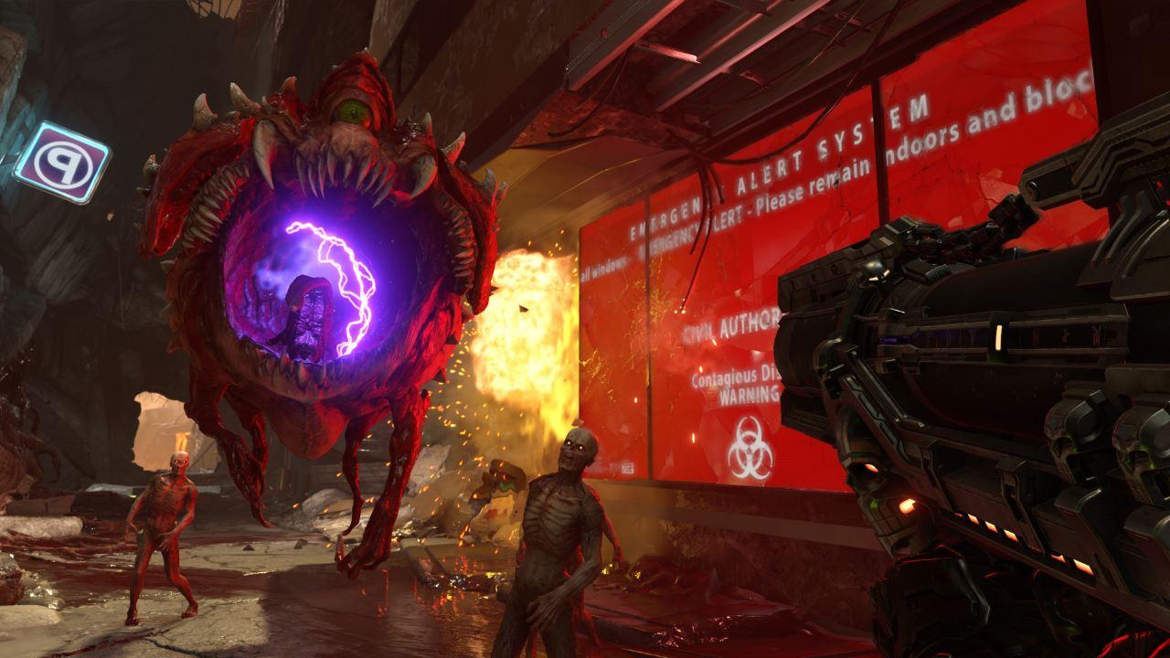 Doom Eternal: trama e gameplay nel nuovo trailer ricco d'azione