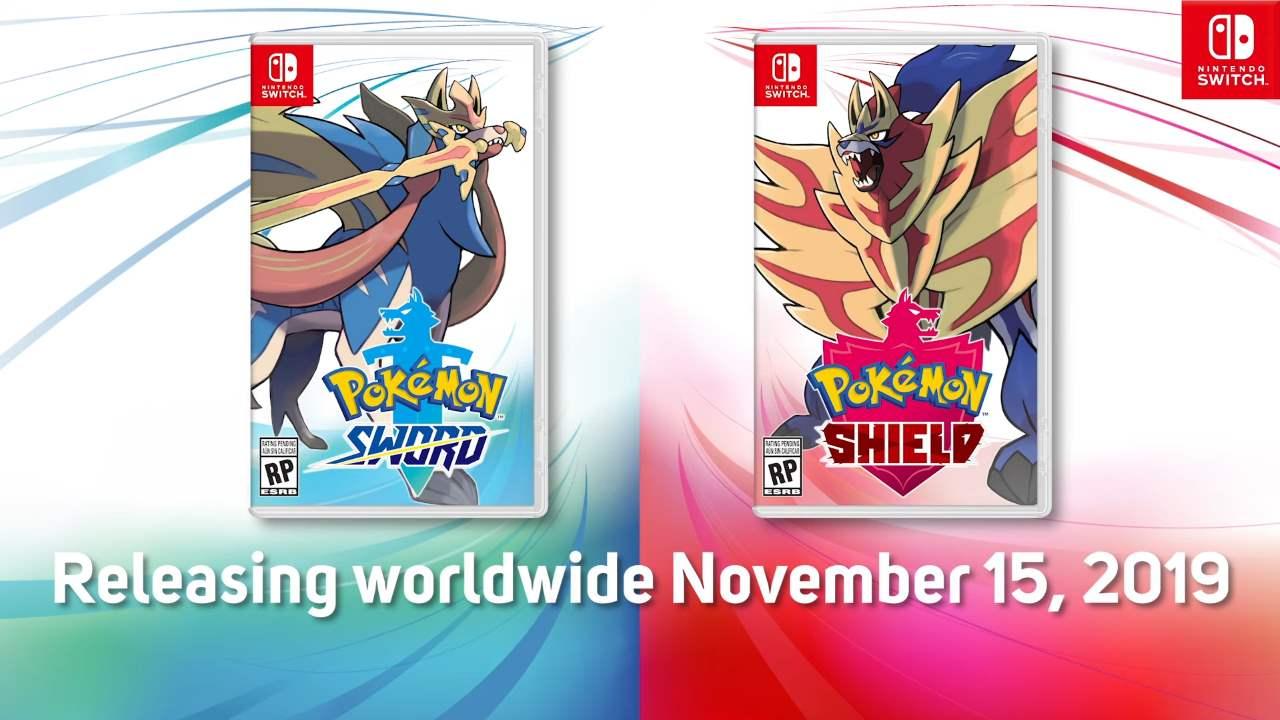 Pokémon Spada e Scudo rilascio