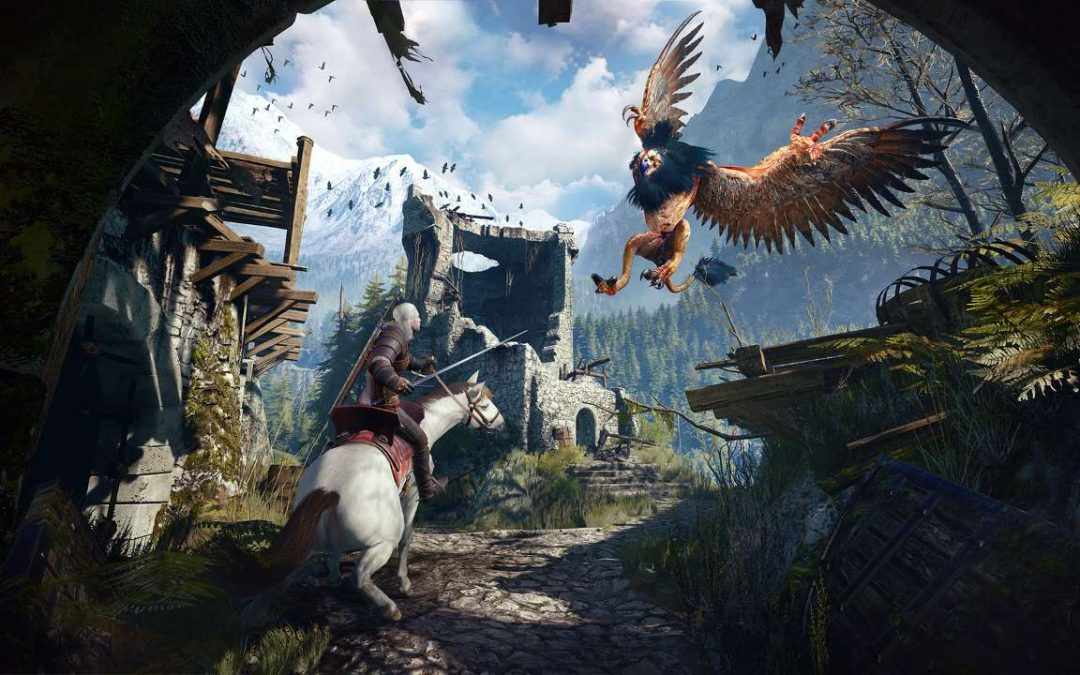 The Witcher 3: Wild Hunt per Nintendo Switch, un video di un'ora mostra la versione docked