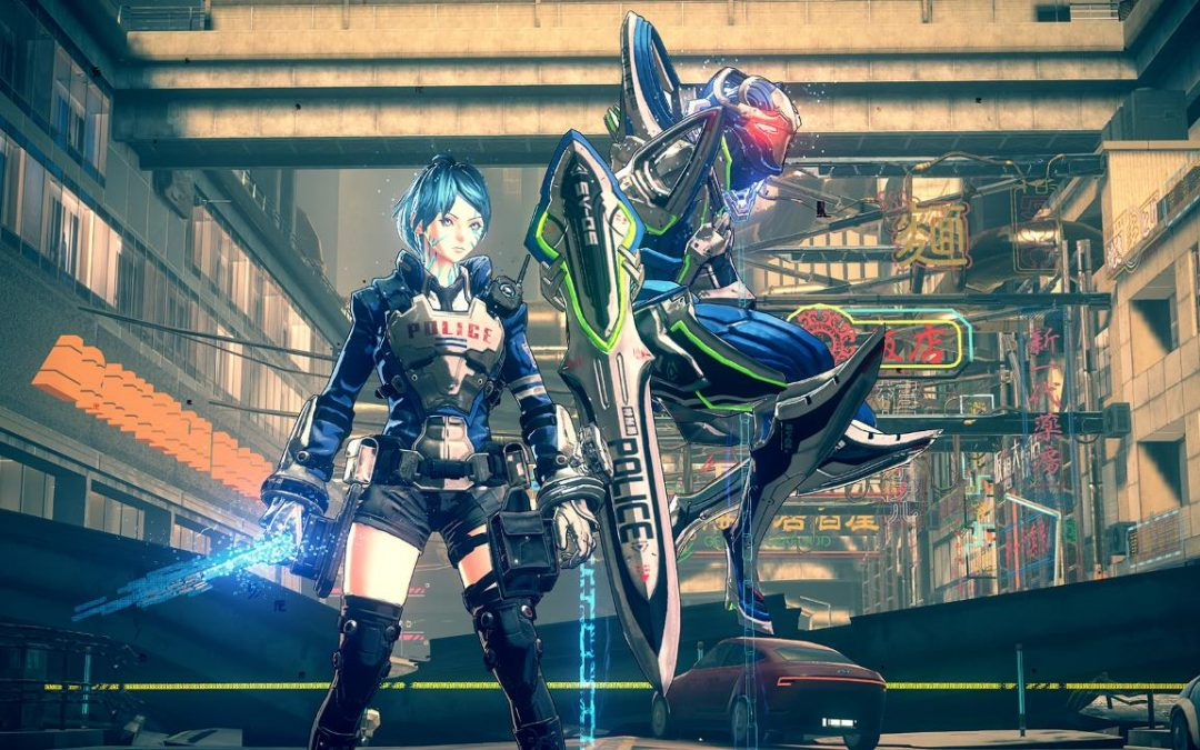 Astral Chain: Platinum Games rivela la dimensione dei file di gioco
