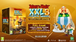 Collector's Edition di Asterix & Obelix XXL 3 The Crystal Manhir