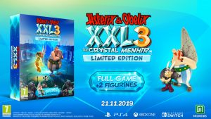 Limited Edition di Asterix & Obelix XXL 3 The Crystal Manhir
