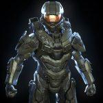 Render di Master Chief di Halo realizzato da Hefley