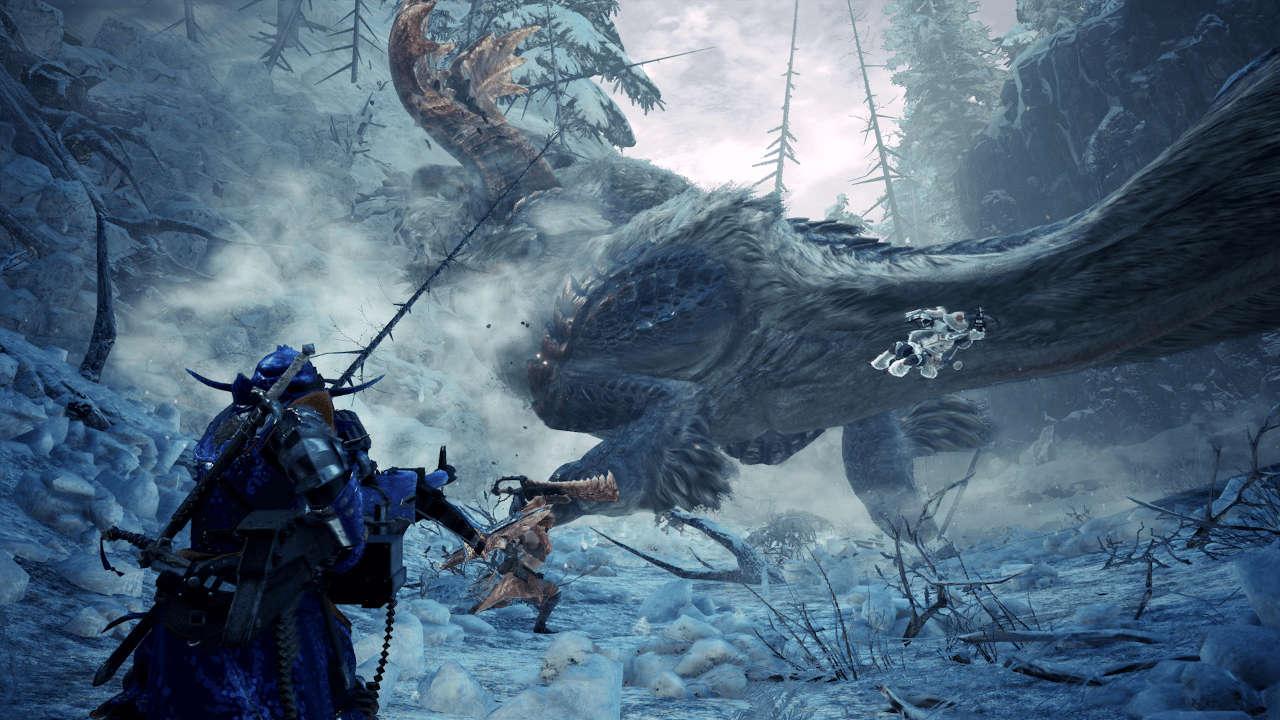 Monster Hunter World Iceborne riceverà l'aggiornamento 15.10 a inizio dicembre