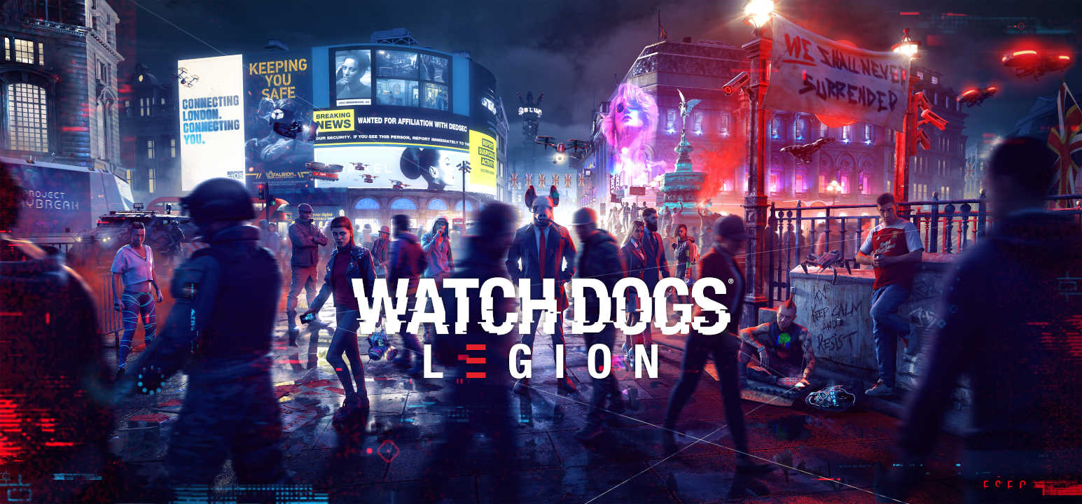 Ubisoft rinvia Watch Dogs: Legion, Gods & Monsters e Rainbow Six Quarantine