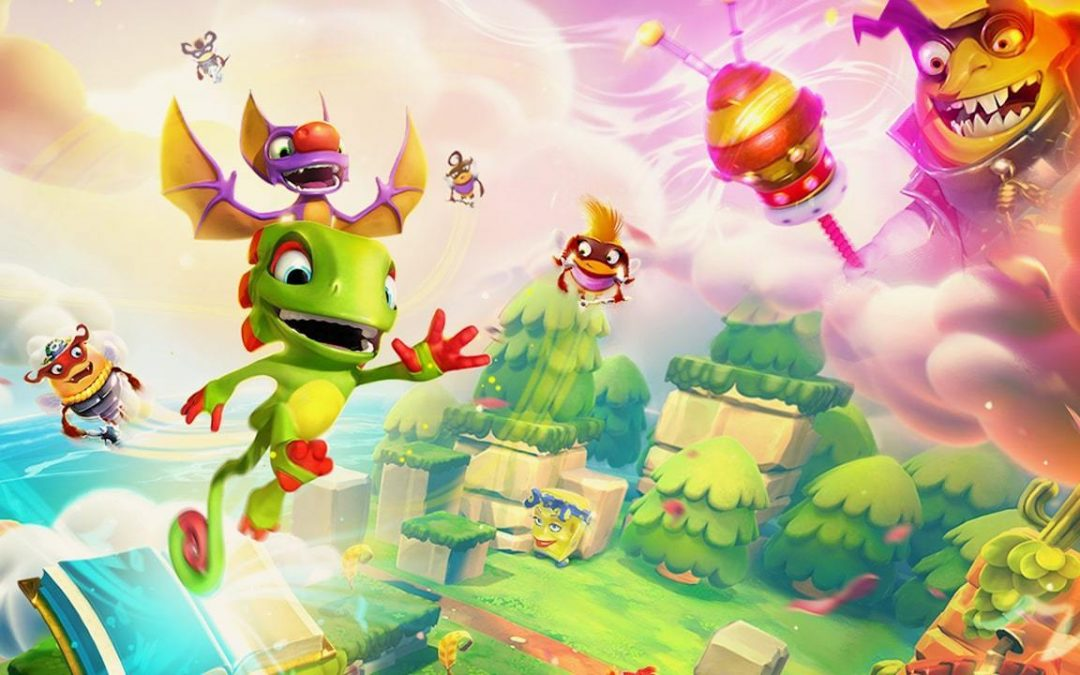 Playtonic Games, il team di Yooka-Laylee anticipa un rebranding
