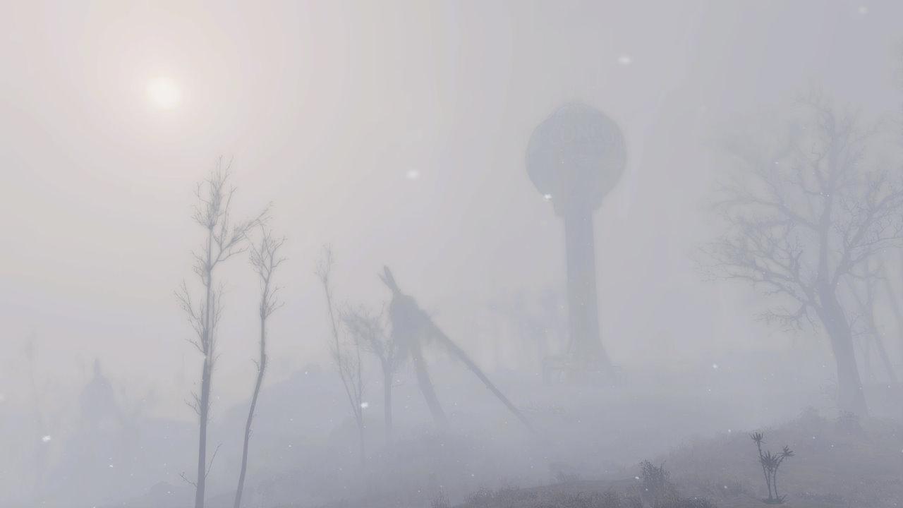 Fallout 4 si trasforma in Silent Hill con la mod Whispering Hills