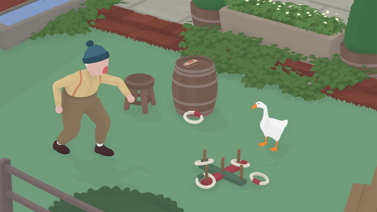 Untitled Goose Game, il nuovo aggiornamento di settembre introduce il multiplayer co-op