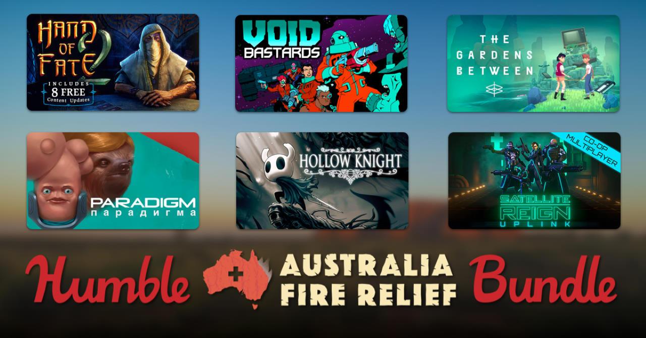 Humble Bundle: il bundle per supportare l'Australia include Hollow Knight