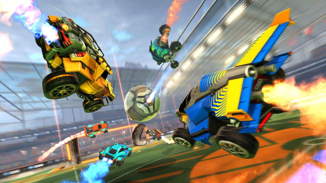 Rocket League, lo split-screen forse torna su Nintendo Switch a dicembre
