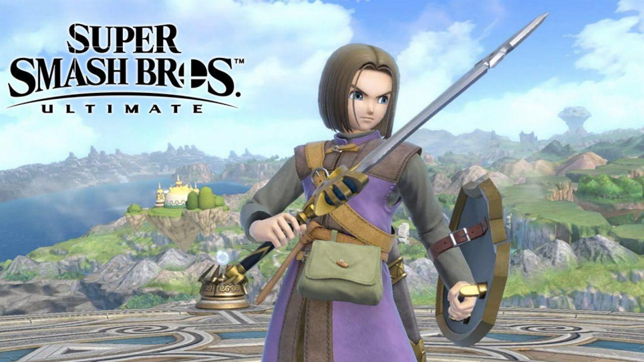 Super Smash Bros. Ultimate: Square Enix ha avuto difficoltà nel portare l'Eroe di Dragon Quest nel picchiaduro