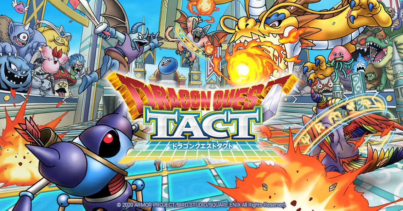 Dragon Quest Tact arriva nel 2020 su Android e iOS in Giappone