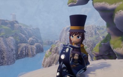 Hat Kid in gioco open world in Dreams immagine 1