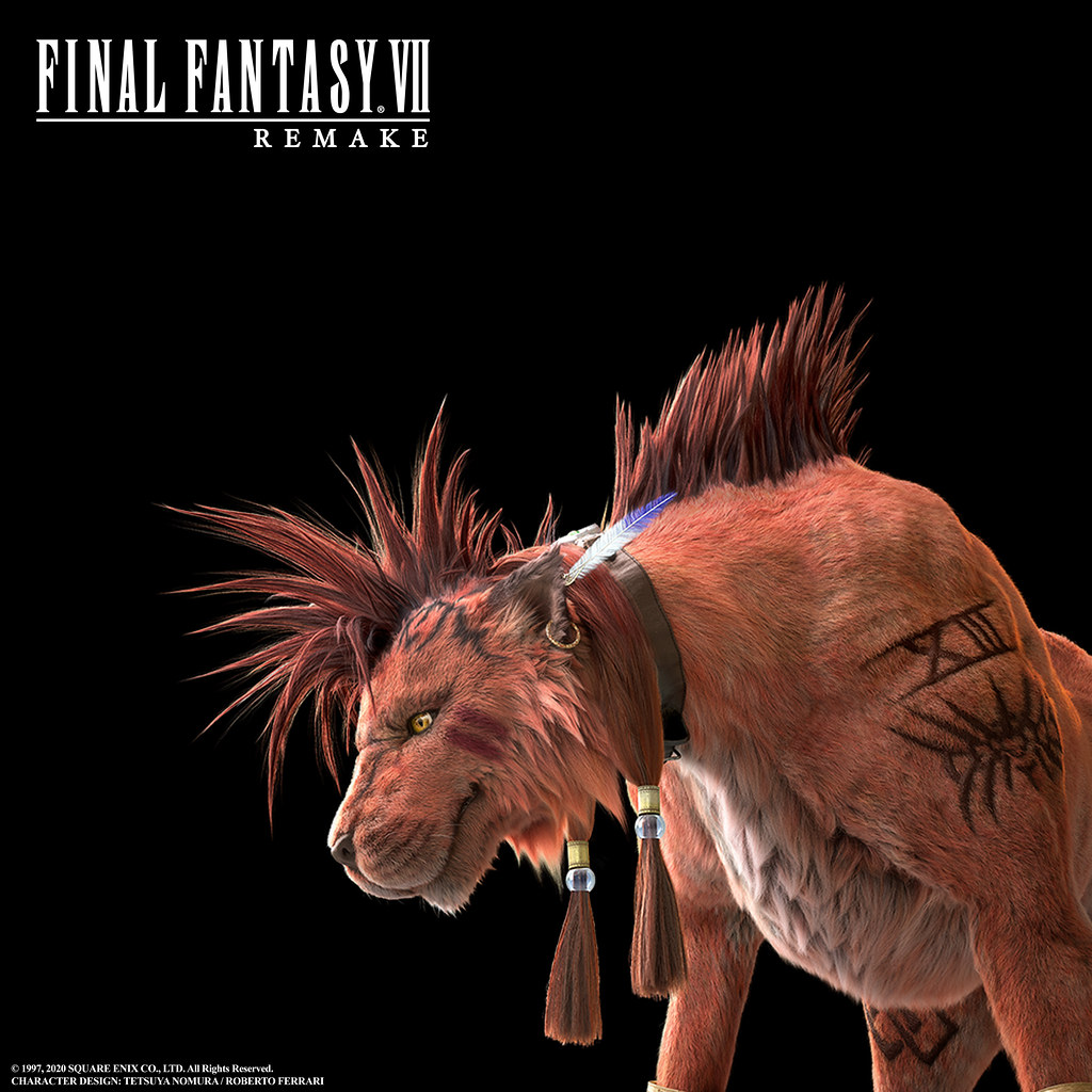 Final Fantasy 7 Remake Red XIII immagine 2