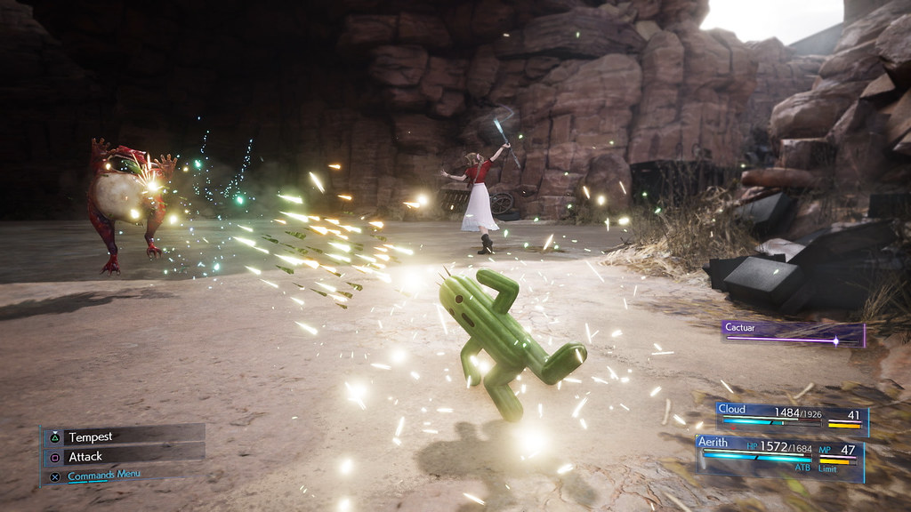 Final Fantasy 7 Remake Cactuar immagine 1