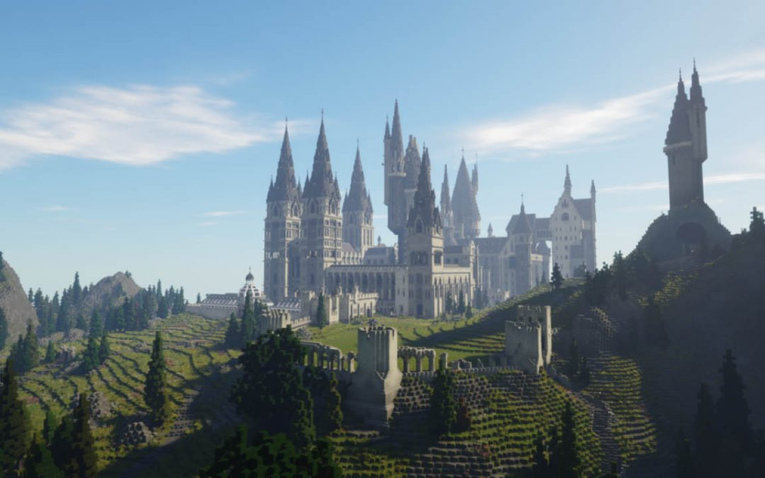 Minecraft: Hogwarts ed Harry Potter prendono vita in una fantastica mappa
