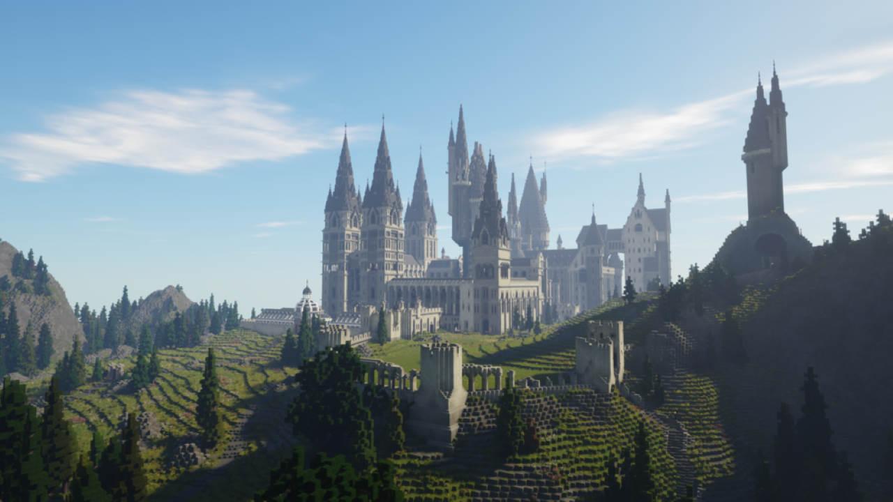 Minecraft: Hogwarts ed Harry Potter prendono vita in una fantastica mappa