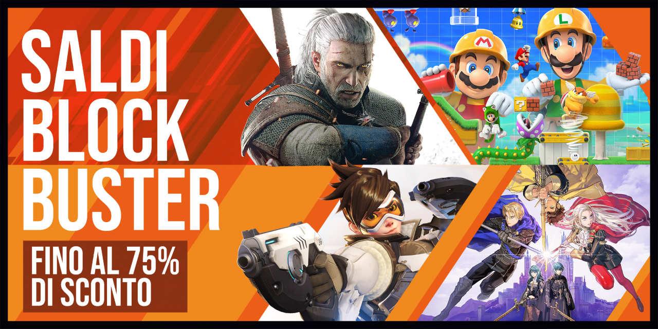 Nintendo eShop: al via i Saldi Blockbuster 2020 su tanti giochi per Nintendo Switch