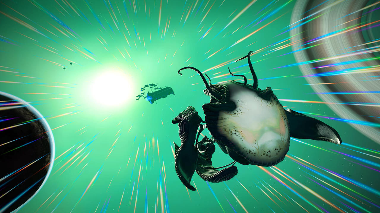 No Man's Sky: disponibile ora l'update Living Ship