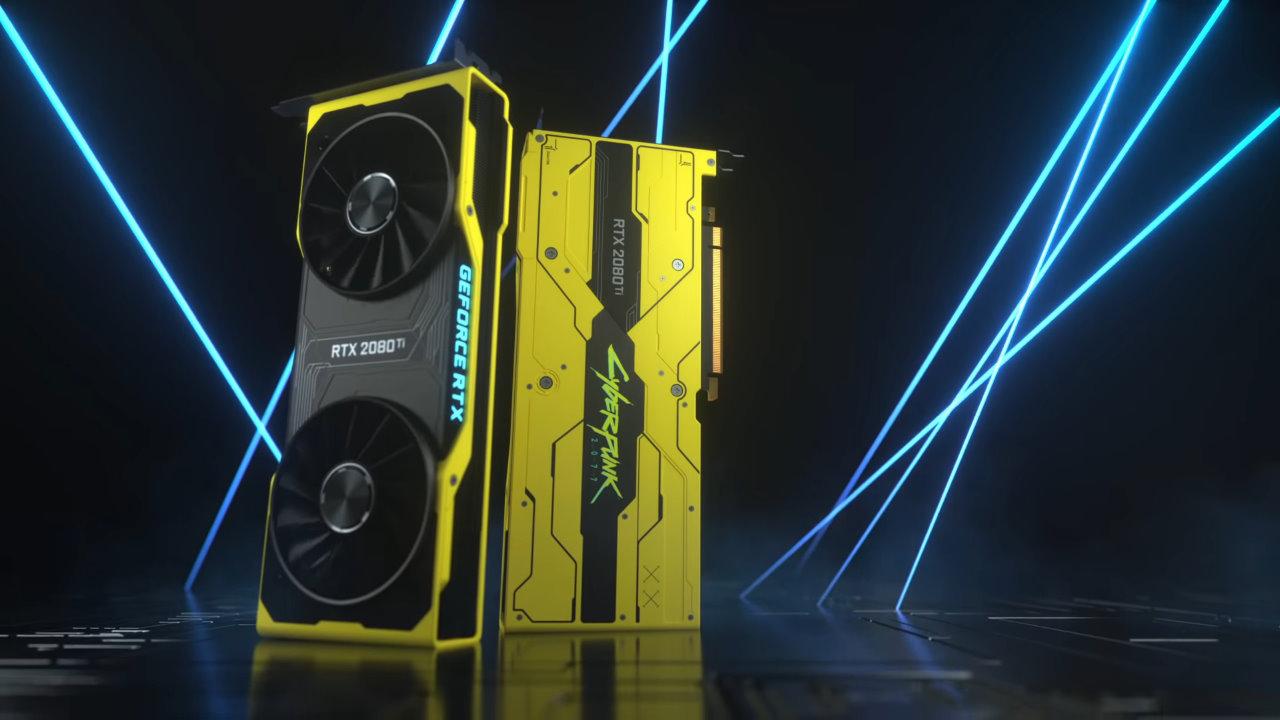 GeForce RTX 2080 Ti Cyberpunk 2077 Edition annunciata da Nvidia, ma non è acquistabile