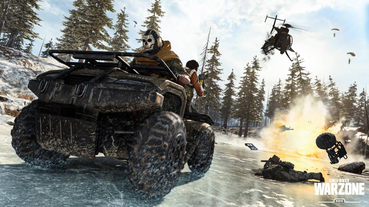 Call of Duty Warzone, un leak svela la chiacchierata mappa stile anni '80