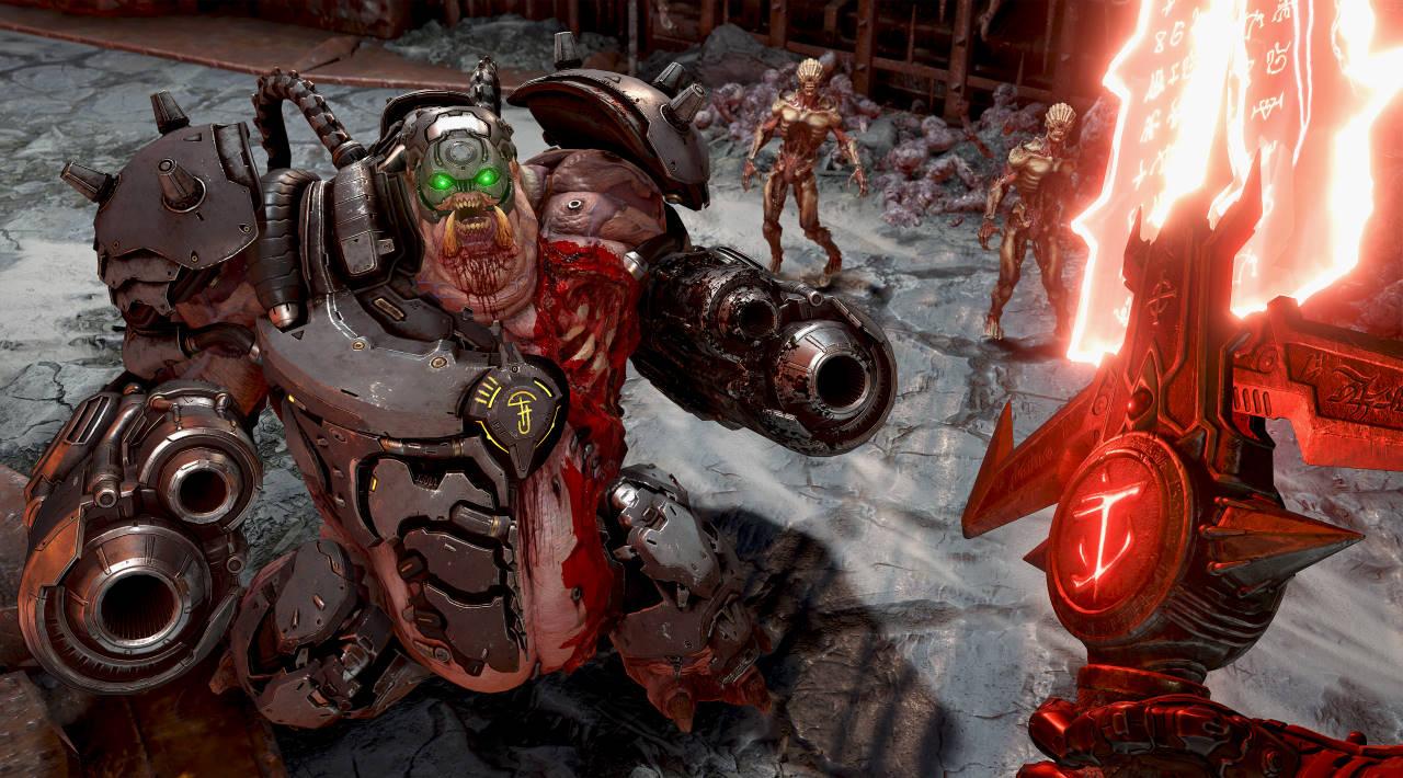 Doom Eternal è da oggi disponibile su Nintendo Switch: video confronto con la versione PS4 Pro