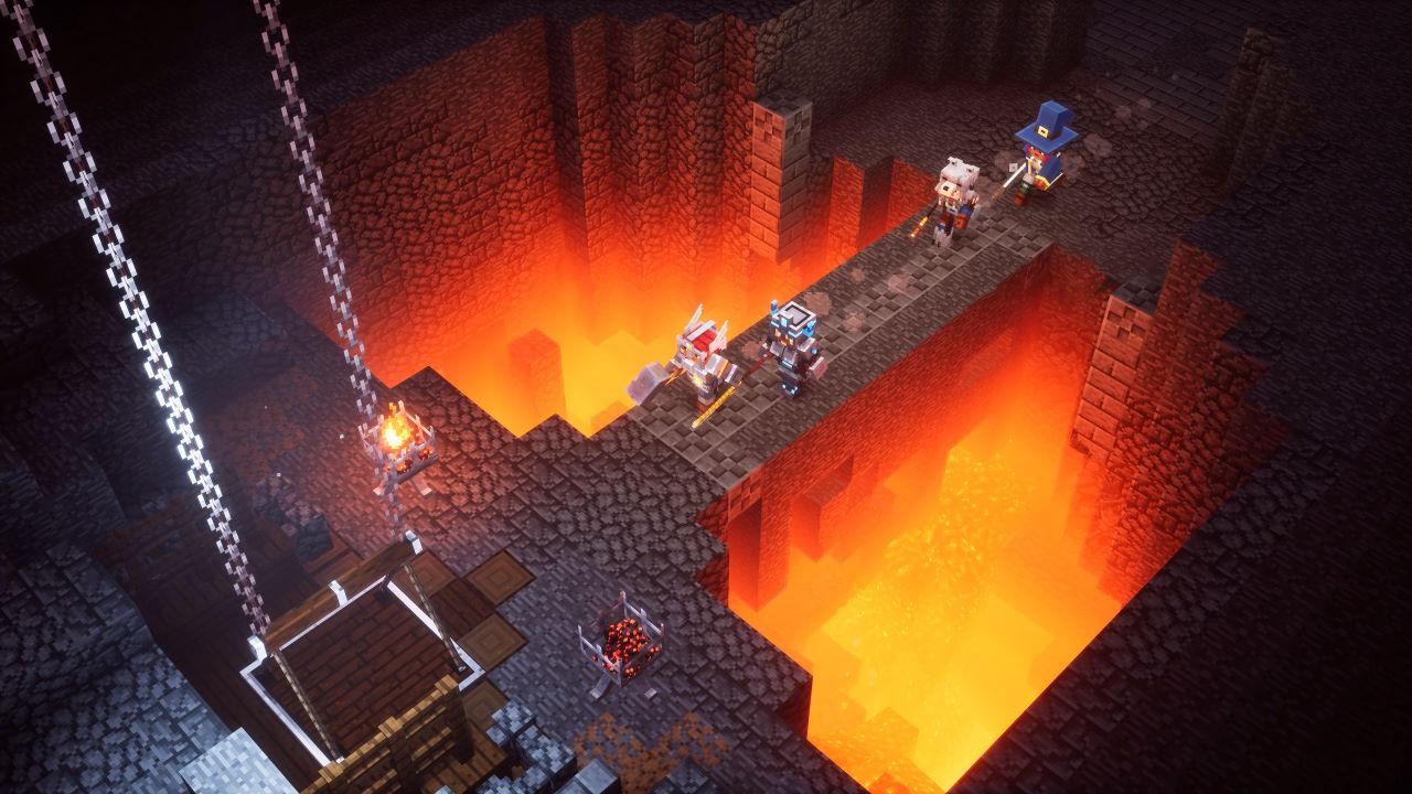 Minecraft Dungeons, in arrivo i salvataggi su cloud il 5 maggio