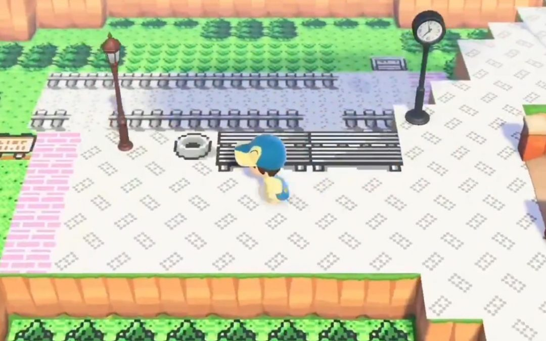Animal Crossing New Horizons, un fan ha ricostruito diversi luoghi della serie di Pokémon