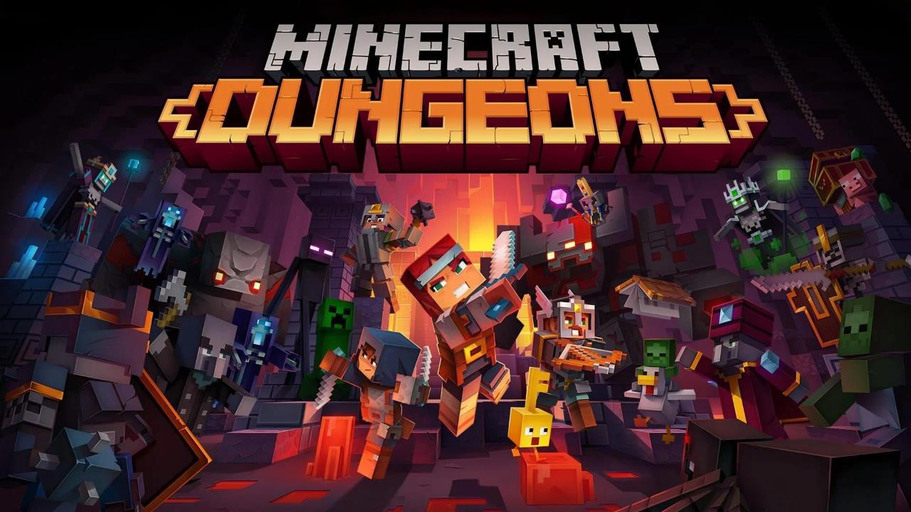 Minecraft Dungeons, il cross-play arriva il 17 novembre