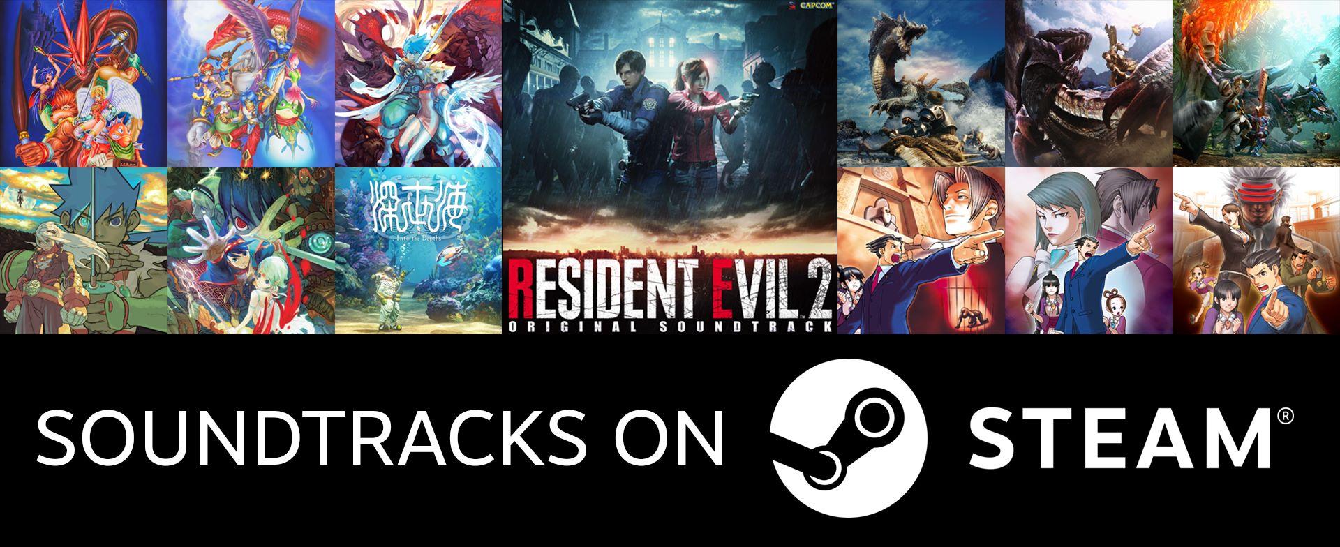 Le colonne sonore di Resident Evil, Monster Hunter, e altri giochi di Capcom sono ora su Steam e Spotify