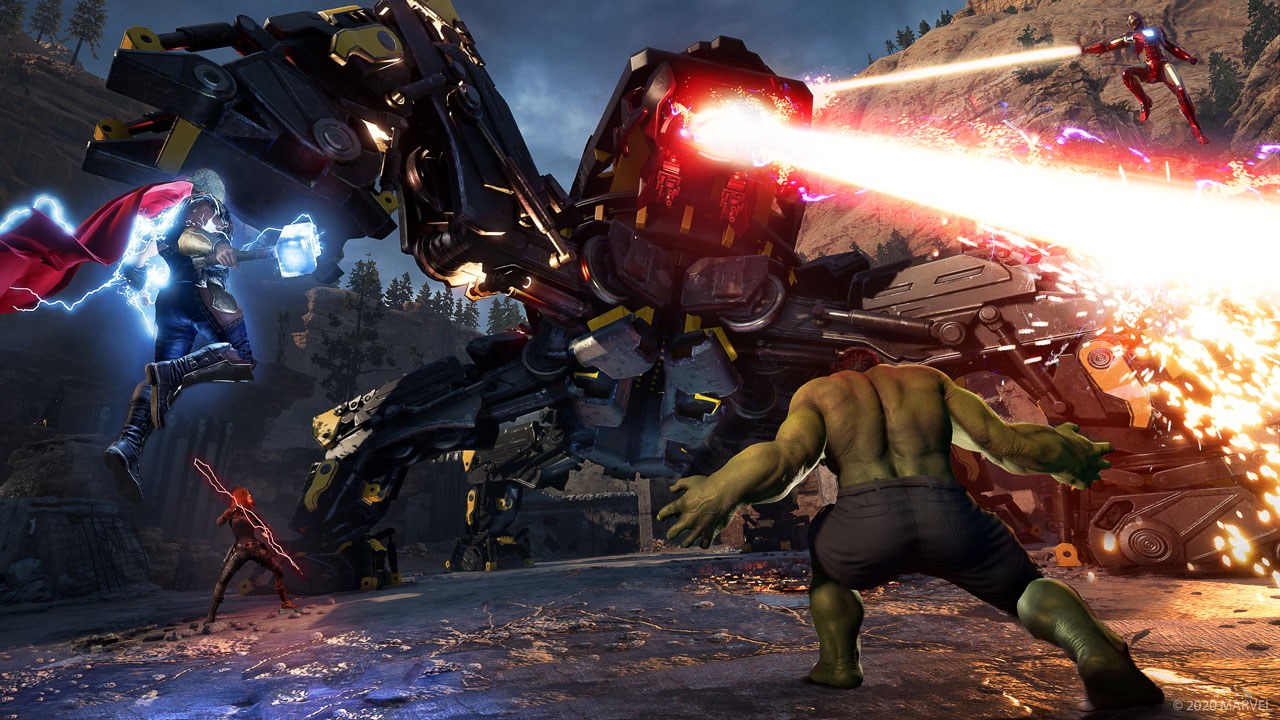 Marvel's Avengers, l'update di luglio permetterà di giocare con più eroi uguali in un gruppo permanentemente