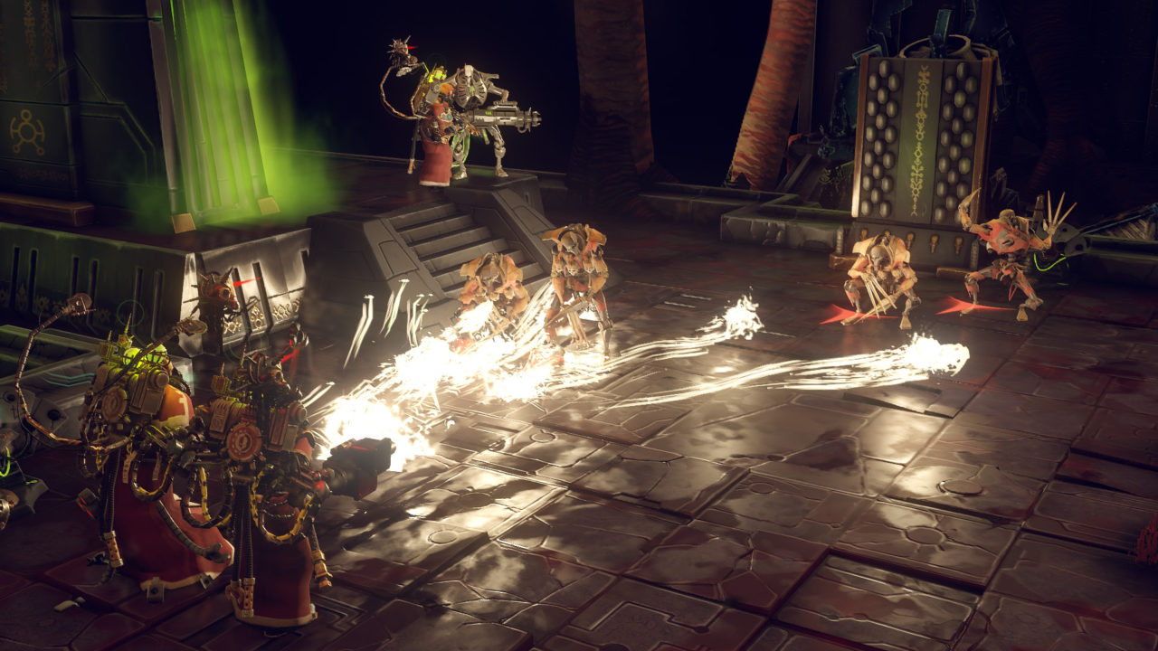 Warhammer 40,000 Mechanicus, ecco la data di uscita delle versioni PS4, Nintendo Switch e Xbox One