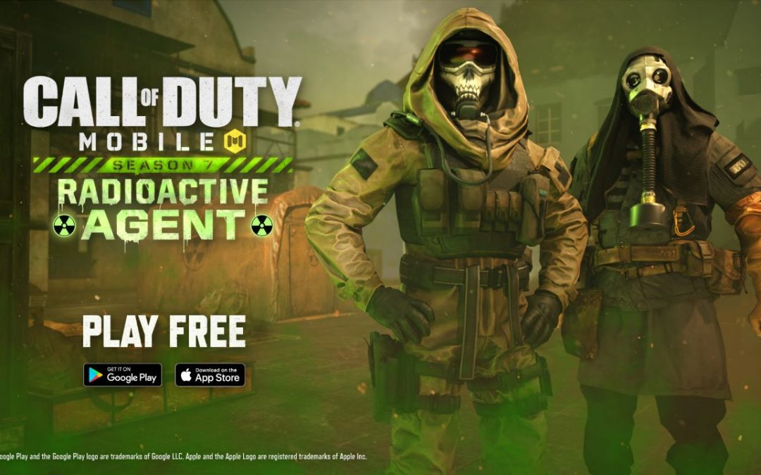 Call of Duty Mobile, disponibile ora la Stagione 7, Agente Radioattivo