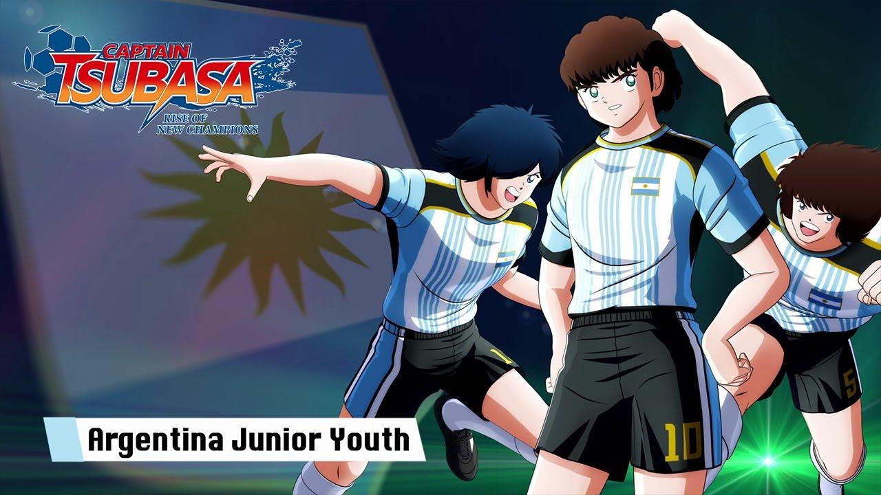 Captain Tsubasa Rise of New Champions, il nuovo trailer presenta la nazionale giovanile argentina