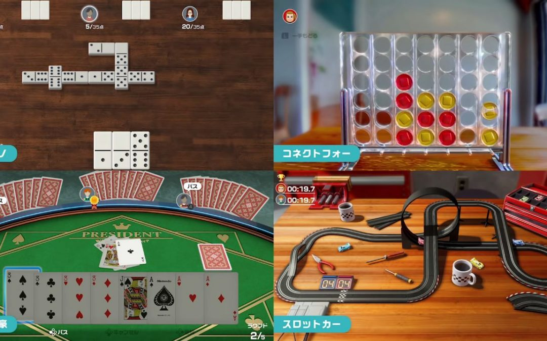 Clubhouse Games 51 Worldwide Classics Pocket Edition annunciato per Nintendo Switch