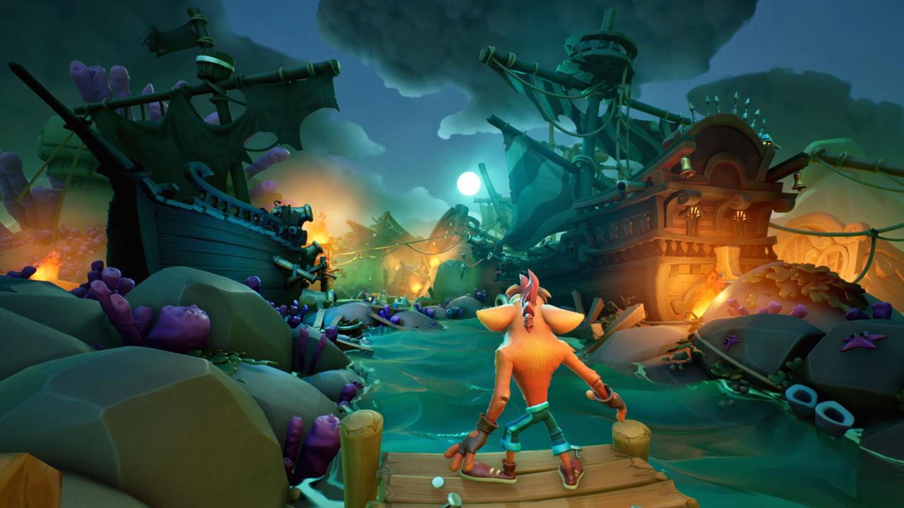 Crash Bandicoot 4 It's About Time, la demo è ora disponibile, pubblicato un nuovo trailer
