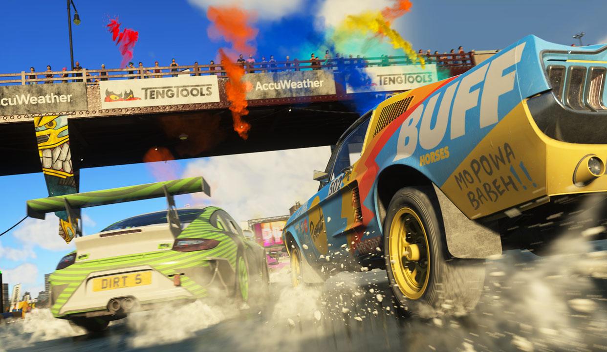 DIRT 5, primo gameplay trailer della versione PS5