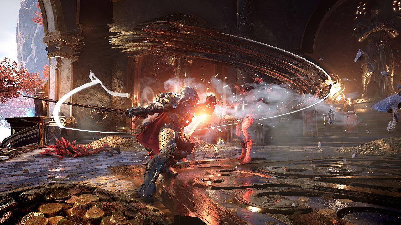 Godfall, il nuovo gameplay trailer mostra lo scambio delle armi in tempo reale