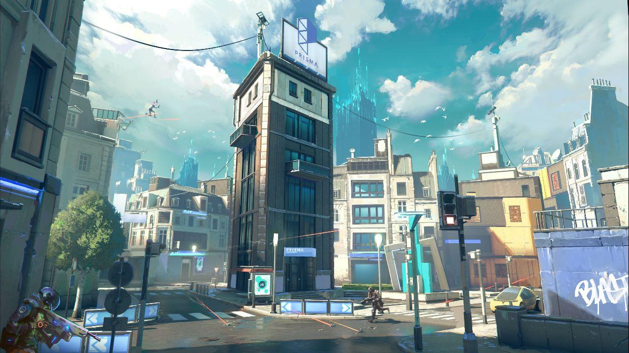 Hyper Scape, Ubisoft apre il sito teaser Prisma Dimensions, annuncio il 2 luglio
