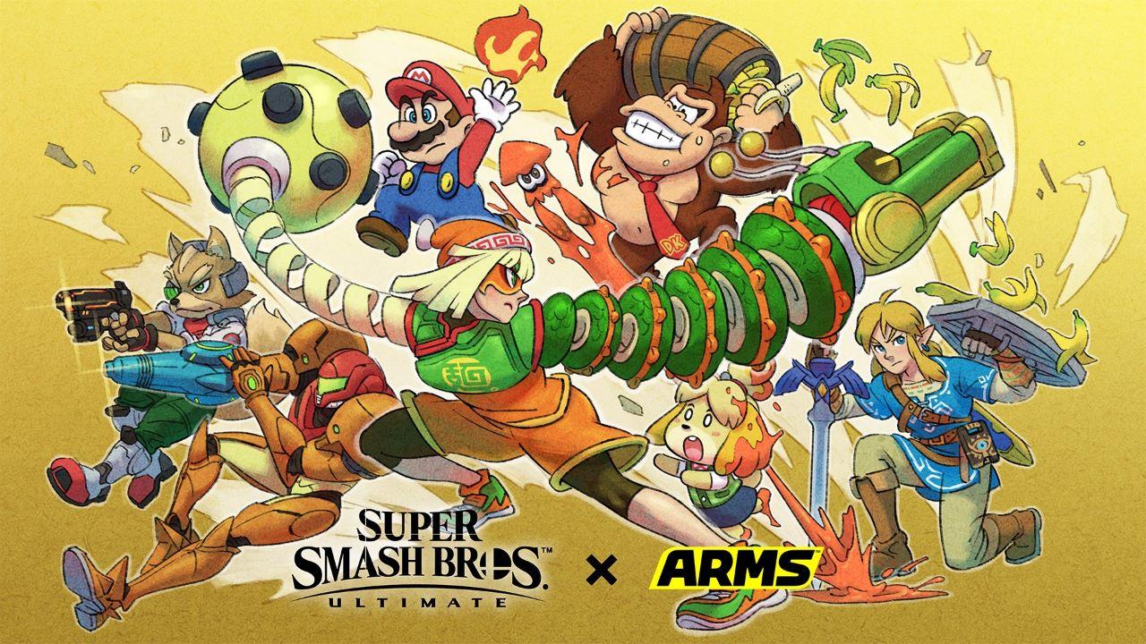 Super Smash Bros Ultimate, l'aggiornamento alla versione 8.0.0 e il DLC di Min Min sono ora disponibili