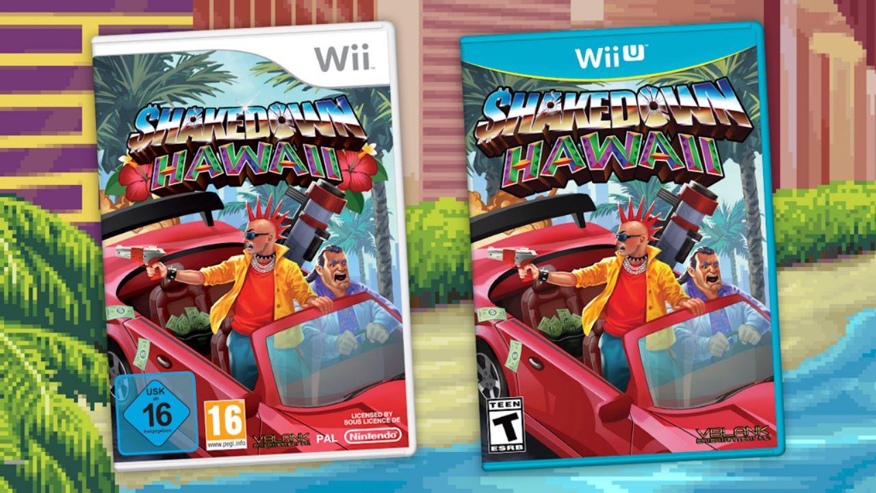 Shakedown Hawaii è un gioco in uscita su Wii e Wii U… nel 2020