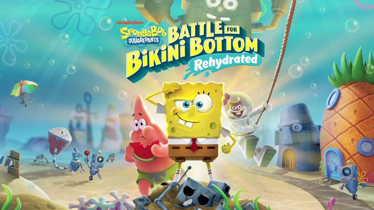 SpongeBob SquarePants Battle for Bikini Bottom – Rehydrated è ora disponibile, ecco il trailer di lancio
